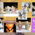 「恋人たちの再会」限定レジンの羽根ペア〜大天使ミカエル×ジョフィエル〜再会・統合・再生